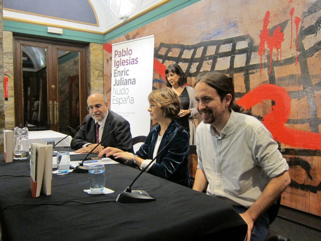 Iglesias, sobre la foto del Rey emérito con el príncipe heredero saudí: «Nuestra democracia no se merece esta imagen»