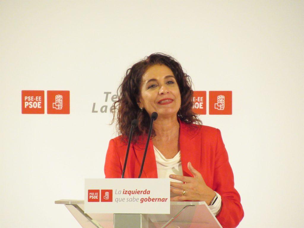 Montero ve «ridículo» que la oposición critique el acuerdo sobre Gibraltar porque «tiene garantías jurídicas»