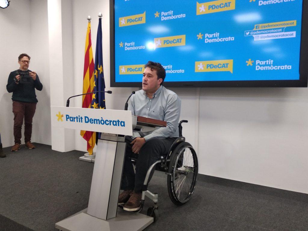 El PDeCAT rechaza subir el IRPF en las cuentas catalanas: «Es una línea roja»