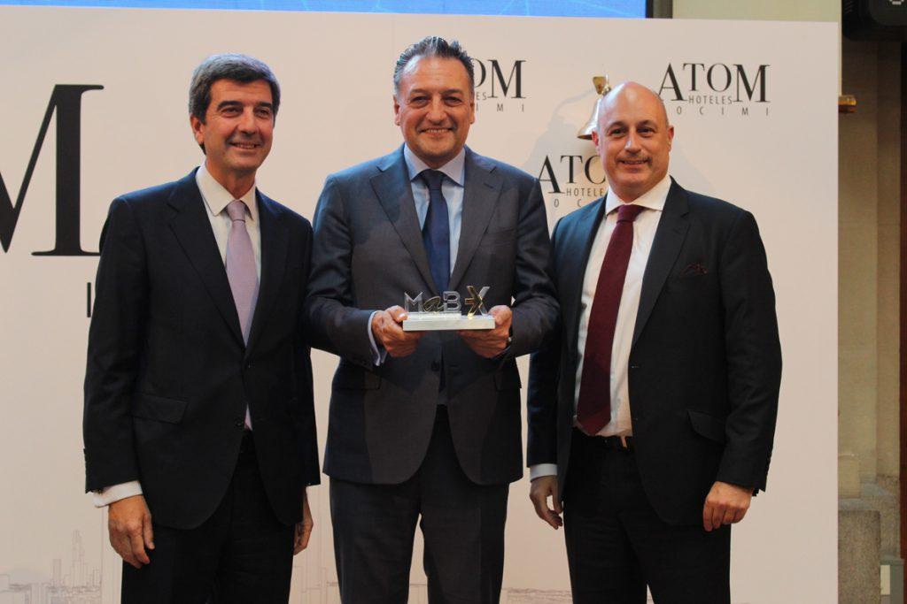 Atom Hoteles, la socimi de Bankinter, cierra plana en su debut en el MAB