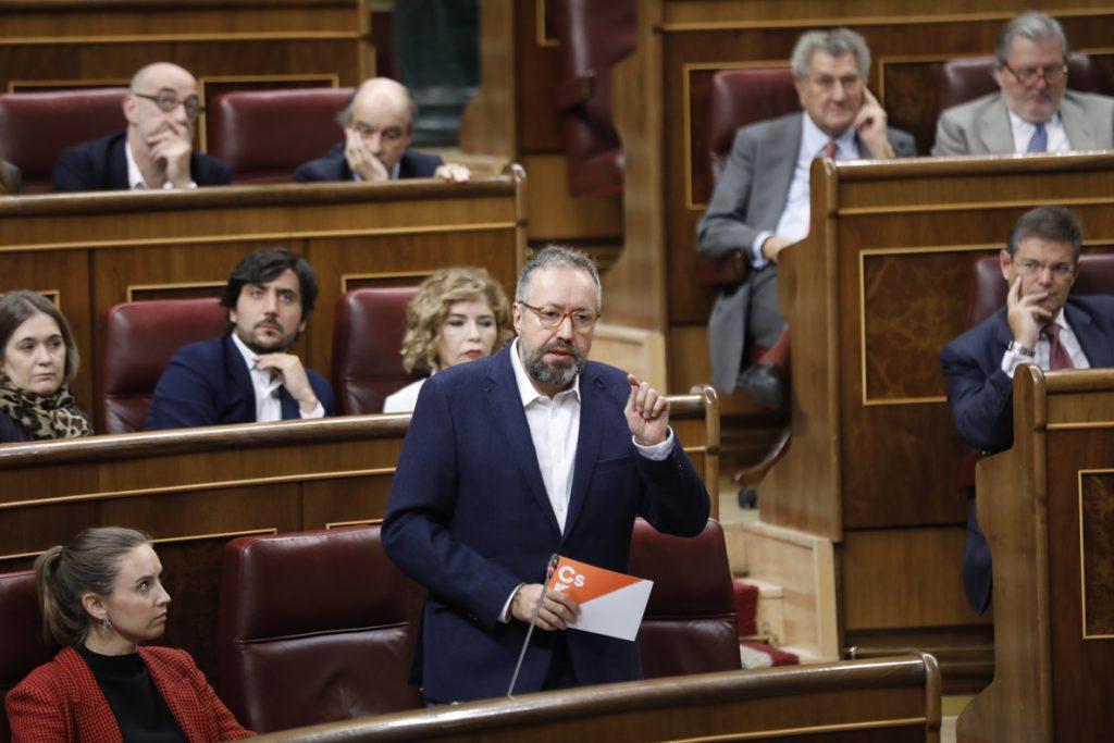 Ciudadanos avisa a Sánchez por la reforma de los aforamientos: «Si vamos a blindar la corrupción, no jugamos»