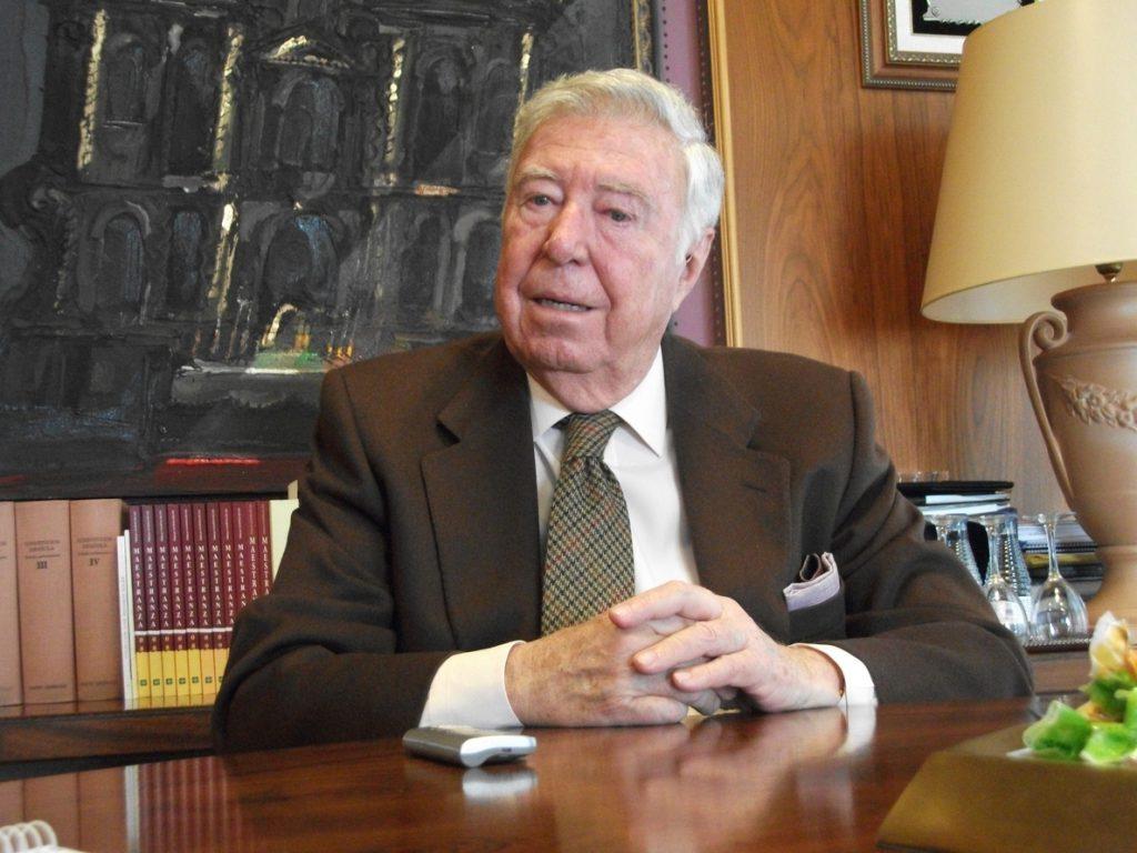 Fallece en un acto en Córdoba el presidente de la Fundación Caja Rural del Sur, José Luis García-Palacios