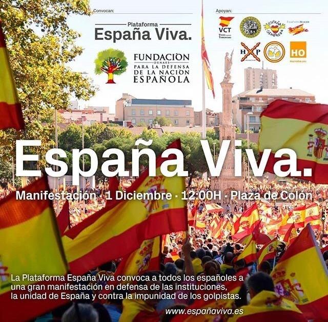 El PP acudirá este sábado a la concentración en defensa de la unidad de España de la fundación Denaes, vinculada a Vox