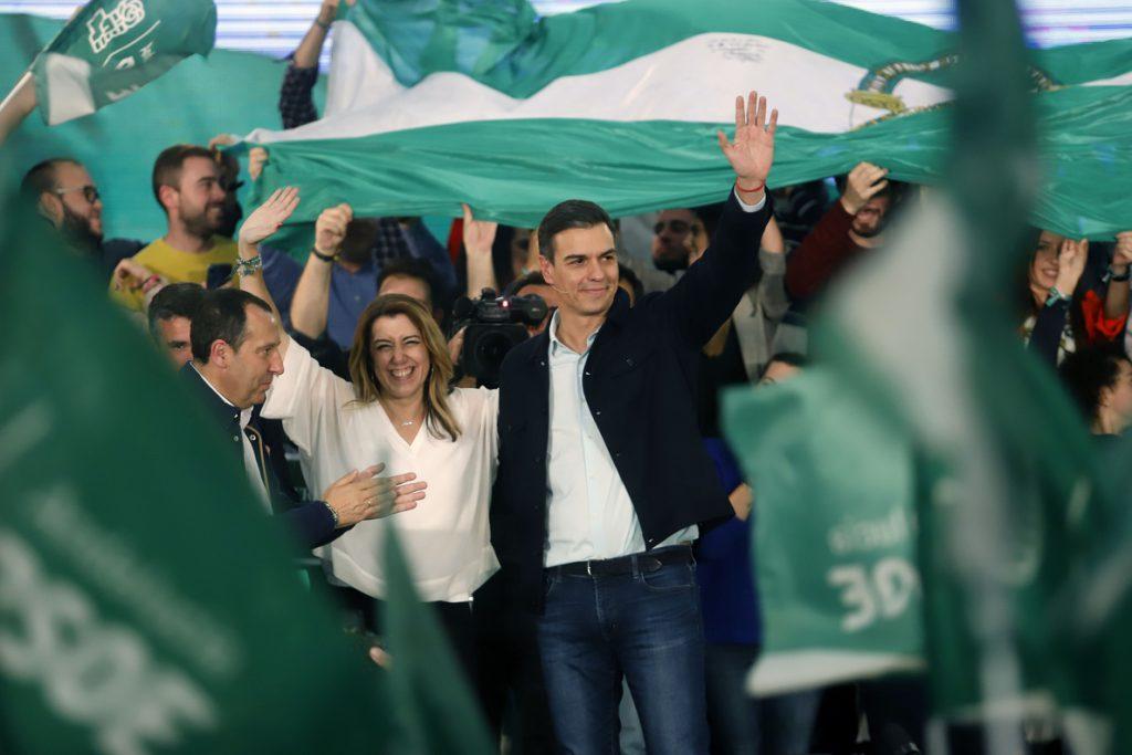Sánchez reclama «ganar bien», frente a un PP y Cs que buscan «bloquear» y no aclaran si pactarán con VOX