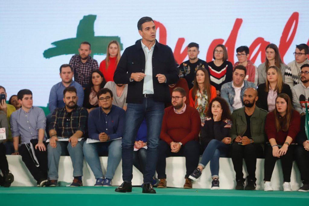 Sánchez se compromete a extender la educación de 0 a 3 años y plantea la bonificación de matrículas universitarias