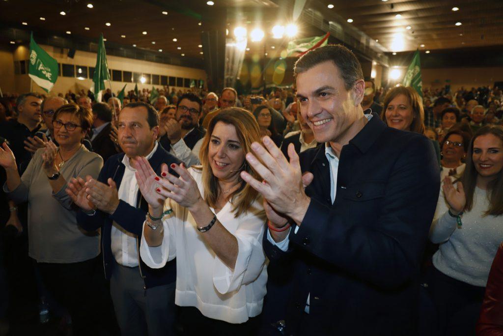 Susana Díaz afirma que los andaluces están dispuestos a levantarse «para que nadie cuestione» el autogobierno y 28F