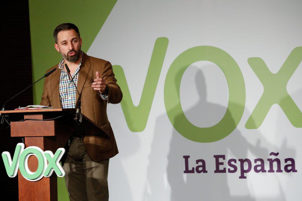 VOX se querellará contra Susana Díaz por acusarle de justificar la violencia machista