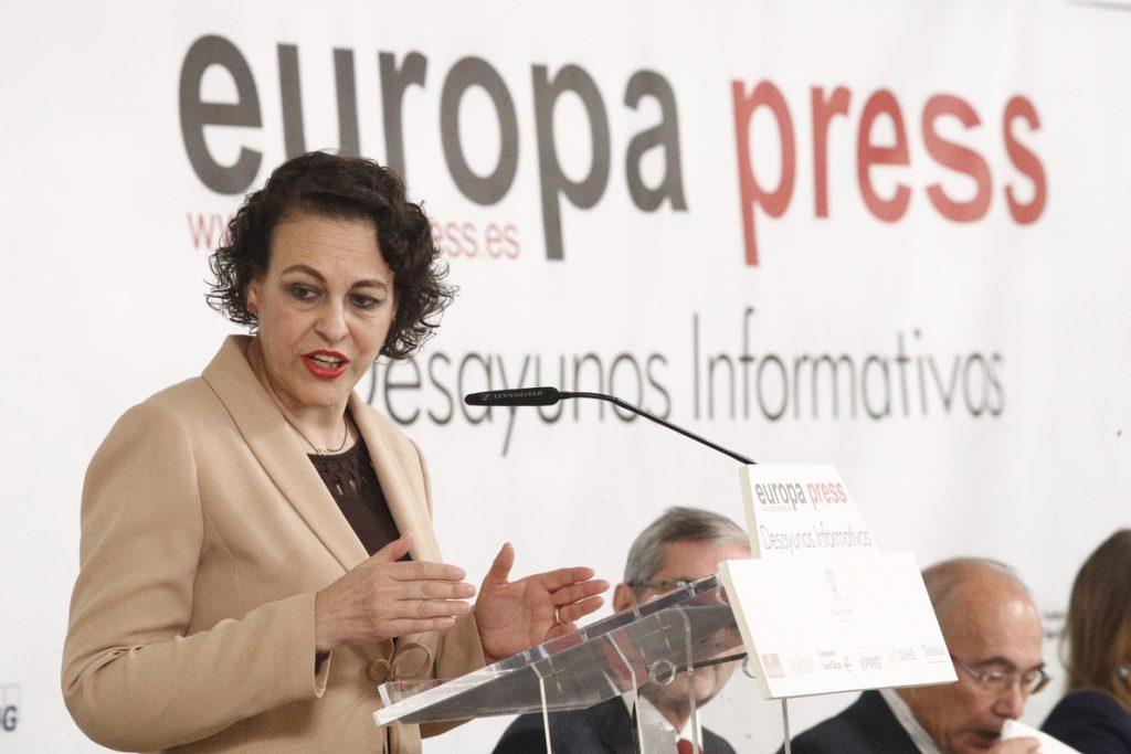 Valerio confía en que el acuerdo de autónomos se cierre esta semana en el marco del diálogo social