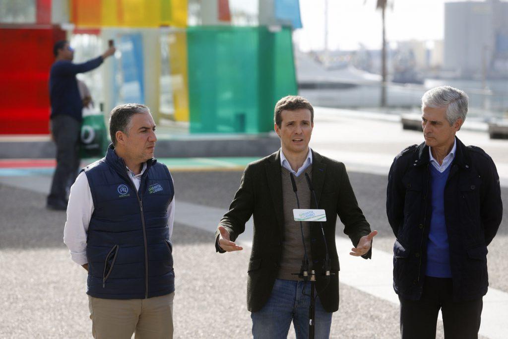 Casado pide «recuperar la autonomía» de Cataluña porque la Generalitat ha dedicado el dinero al procés y no a la gente