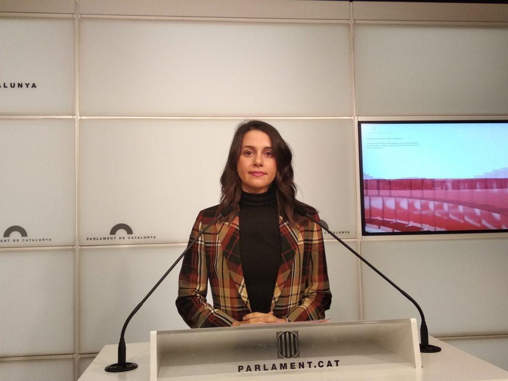 Cs pide la comparecencia «urgente» de Torra en el Parlament sobre las huelgas