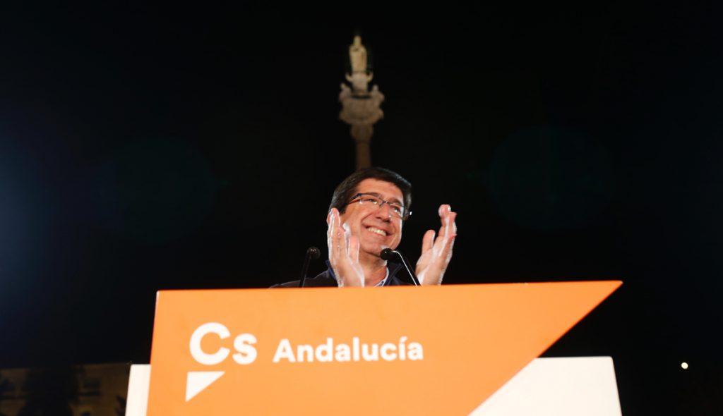 Marín (Cs) ve vital una movilización masiva ante la «oportunidad histórica» de un cambio en la Junta
