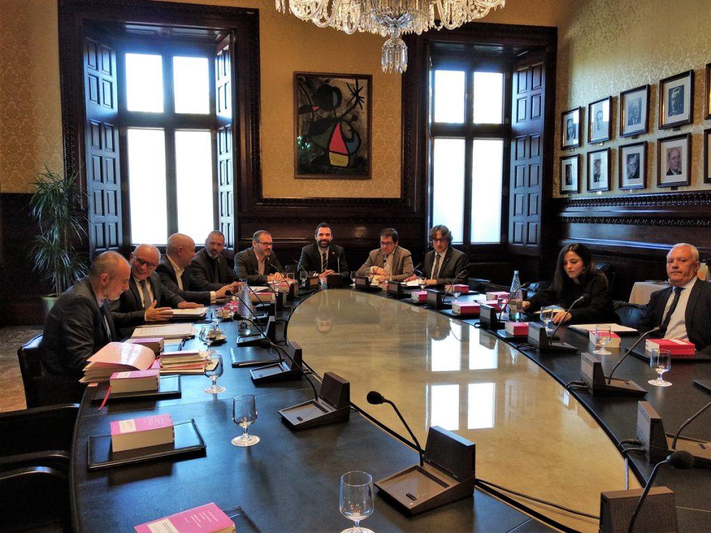 La Mesa del Parlament decide este viernes si frena la comisión de investigación a la Casa Real