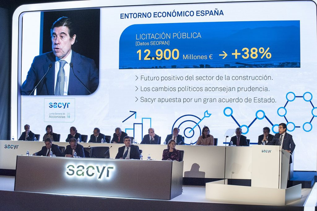 Sacyr pacta con Paraguay para acometer un proyecto 1.300 millones que logró hace dos años