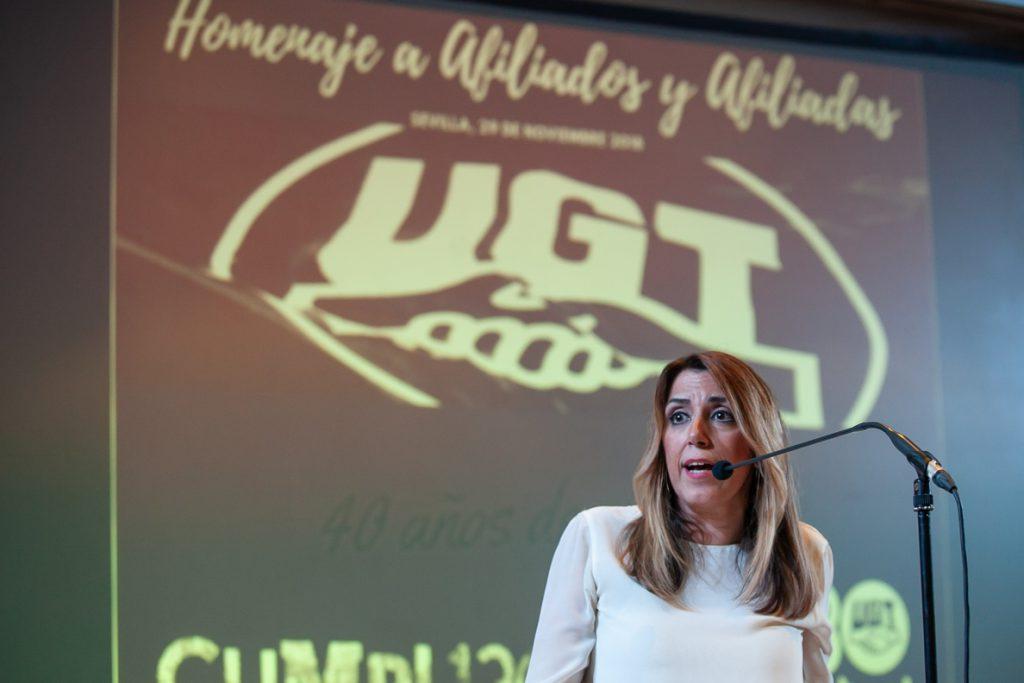 Susana Díaz: Andalucía tiene que ser el «dique de contención» de la derecha para que PSOE siga gobernando en España