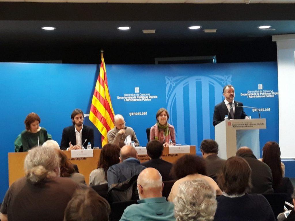 El conseller Alfred Bosch prevé que un proceso constituyente catalán incorpore «elementos de otros procesos»