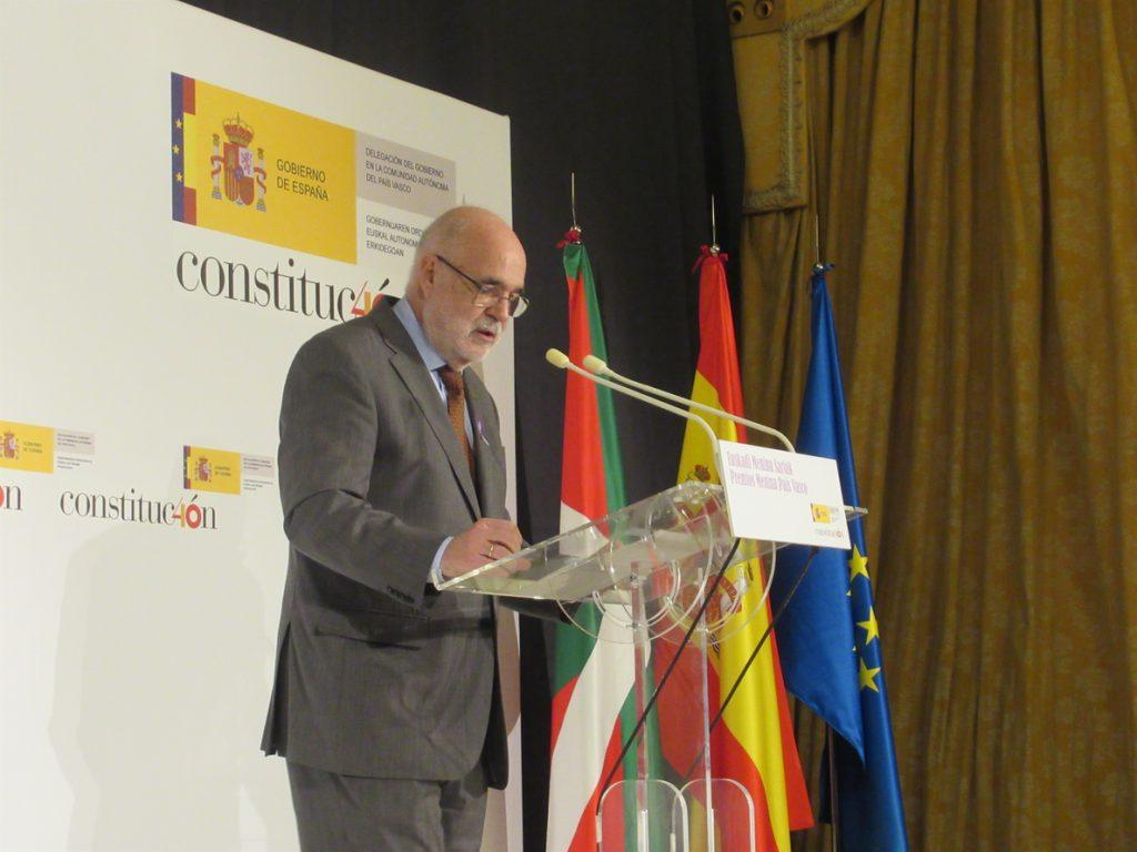 Delegado Gobierno acusa a PNV y Bildu de buscar un escenario como el de Cataluña con su acuerdo contra la Constitución