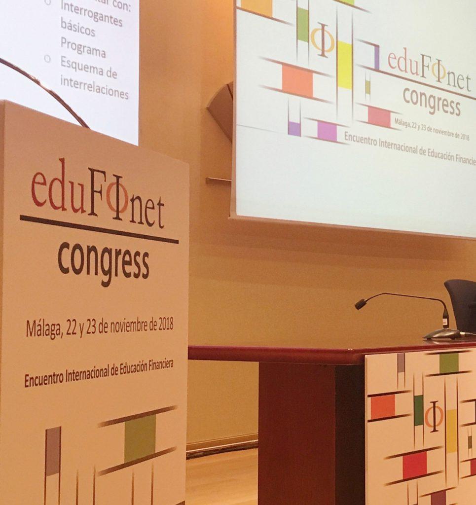 El proyecto Edufinet de Unicaja presenta las conclusiones de su congreso internacional, con 400 participantes