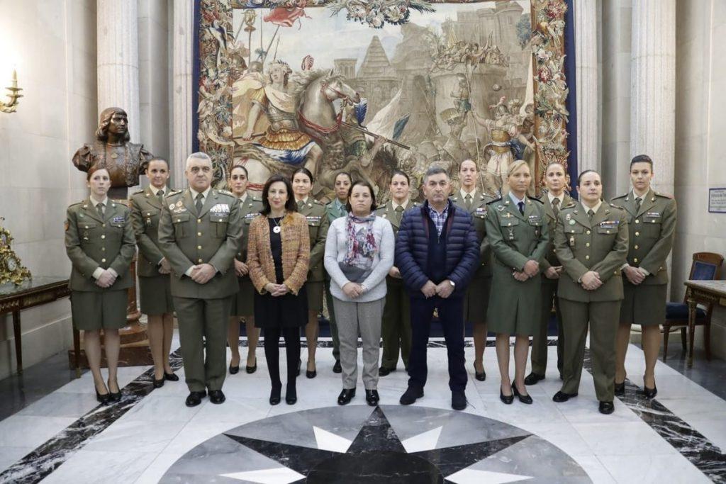 El Ejército de Tierra homenajea en su calendario de 2019 a mujeres militares «con valor reconocido» en Irak y Afganistán