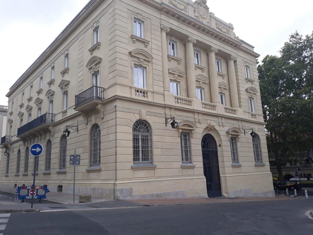 El Gobierno central cede la antigua sede del Banco de España en Vitoria al Memorial Víctimas del Terrorismo