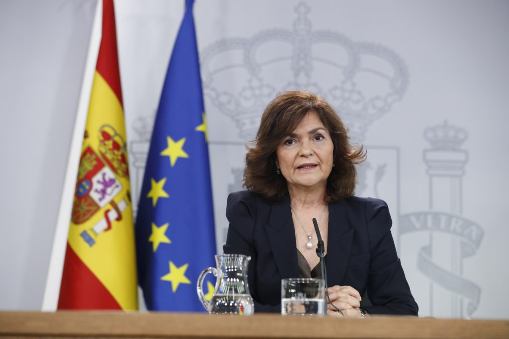 El Gobierno anuncia que a finales de diciembre dará la orden de exhumar a Franco del Valle de los Caídos