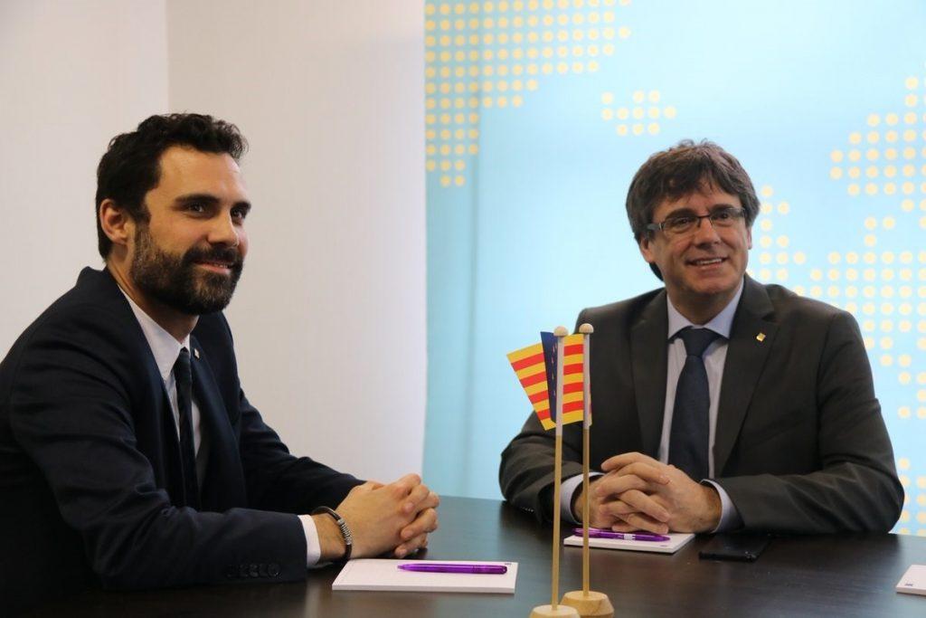 Torrent viajará el lunes a Bélgica para reunirse con Puigdemont