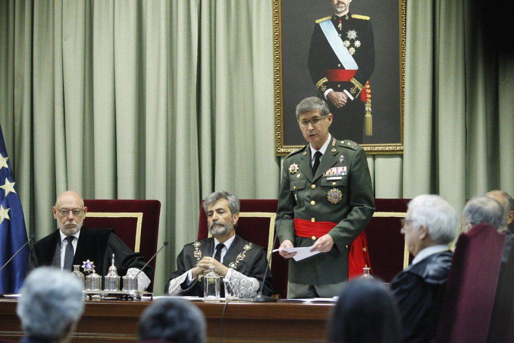 Abandono de destino y actos contra el patrimonio militar, los delitos con más condenas en las Fuerzas Armadas en 2017