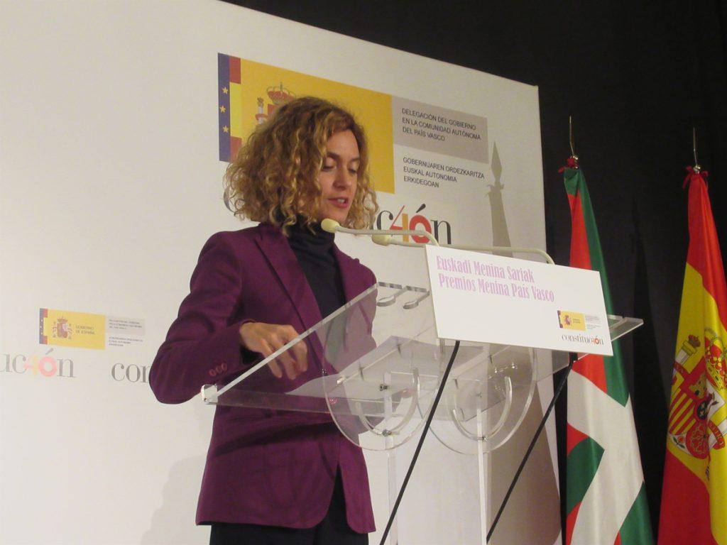 Batet rechaza que la Constitución sea «antidemocrática» y recuerda que permite que el 'lehendakari' gobierne