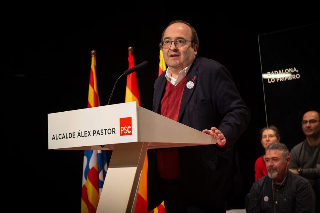 Iceta (PSC) afirma que España ha vivido «los mejores 40 años» de su historia con la Constitución
