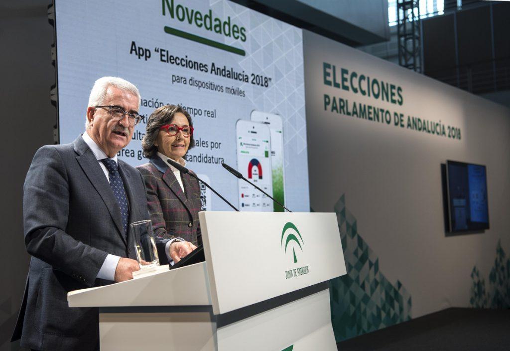 La Junta de Andalucía cifra el coste de las elecciones autonómicas en 10,8 millones, un millón menos que en 2015