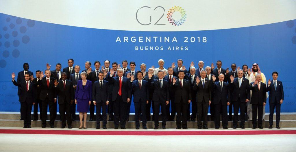 Rusia critica la ausencia de Trump durante la segunda reunión plenaria del G20