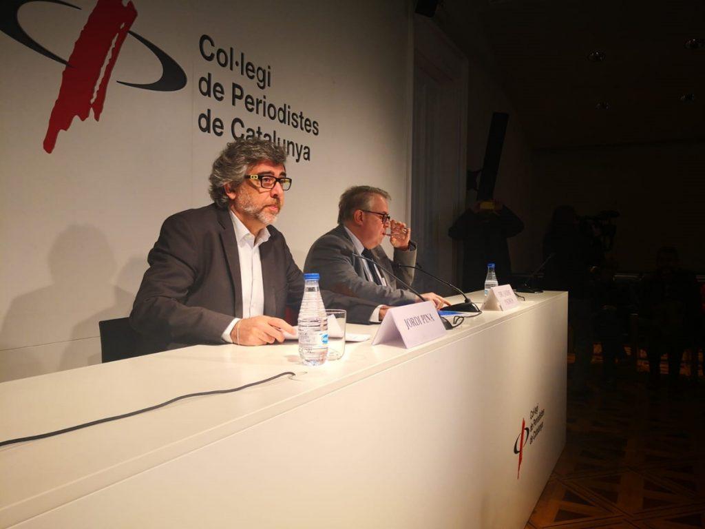 Turull y Sànchez critican el «bloqueo de la justicia europea que impone el TC»