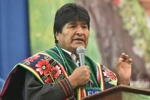 Evo Morales denuncia el «chantaje» de EEUU, que amenaza con bloquear la financiación internacional a Bolivia