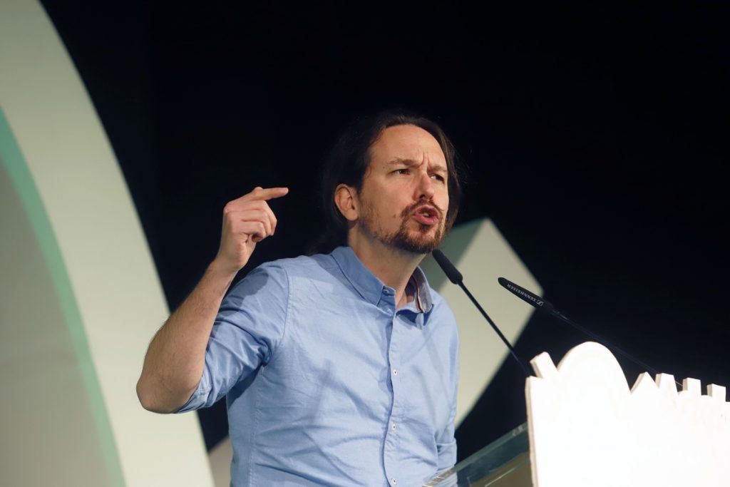 Pablo Iglesias decreta «alerta antifascista» y llama a la movilización contra los «postfranquistas» de Vox