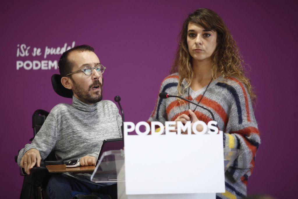 Podemos admite preocupación por la bajada de la participación y culpa a Susana Díaz de la posible entrada de Vox
