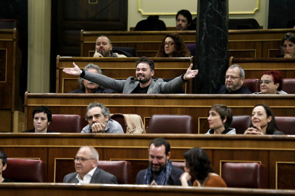 Rufián asegura que «se ha sacado a Franco del Valle de los Caídos y se ha metido en la Junta de Andalucía»