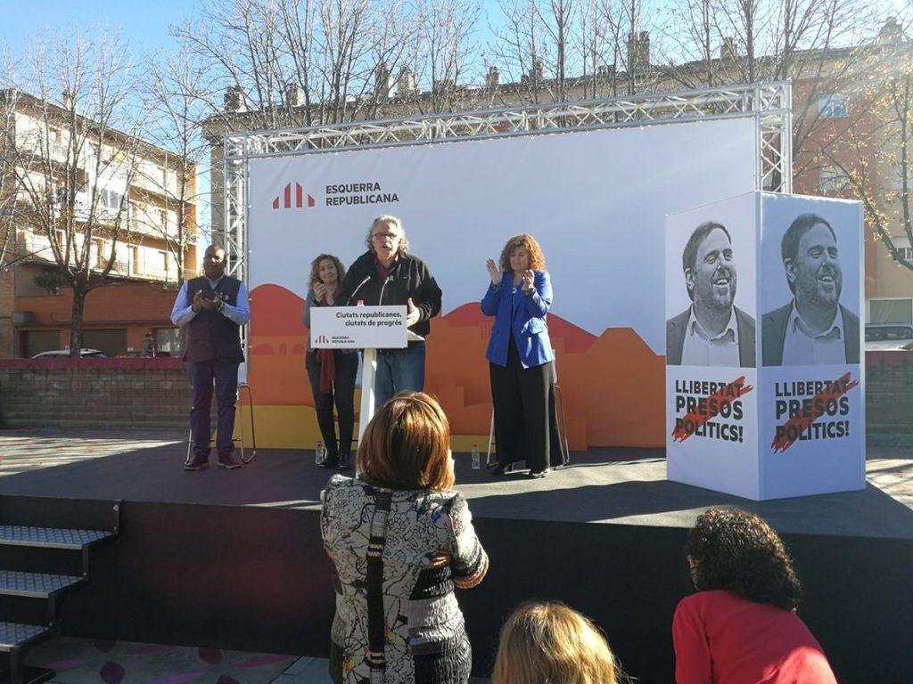 Tardá (ERC) apoya a Turull y Sànchez, en huelga de hambre: «Han pagado una prenda personal y física»