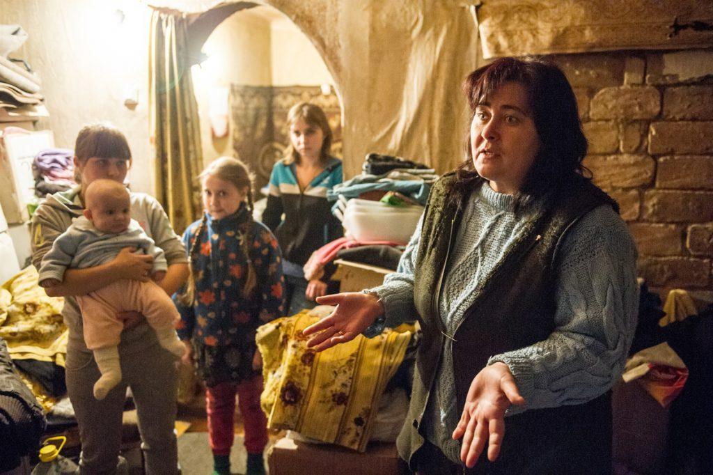 En el este de Ucrania, la geopolítica y la seguridad eclipsan la crisis humanitaria