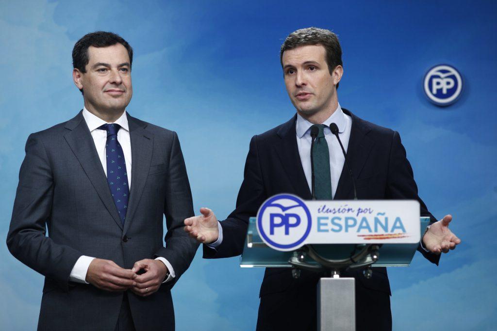 Casado rechaza las advertencias del PSOE sobre Vox porque gobierna «con la izquierda más radical en democracia»