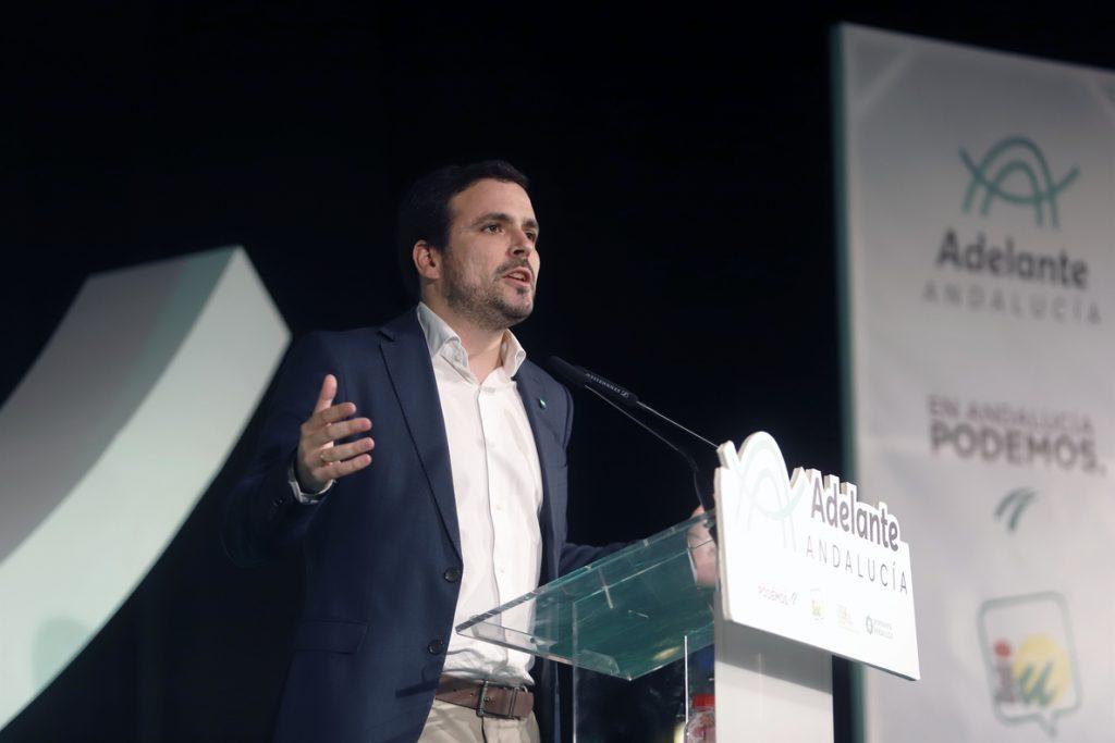 Críticos de IU exigen la dimisión de Garzón y la convocatoria de una Asamblea Federal Extraordinaria por las andaluzas