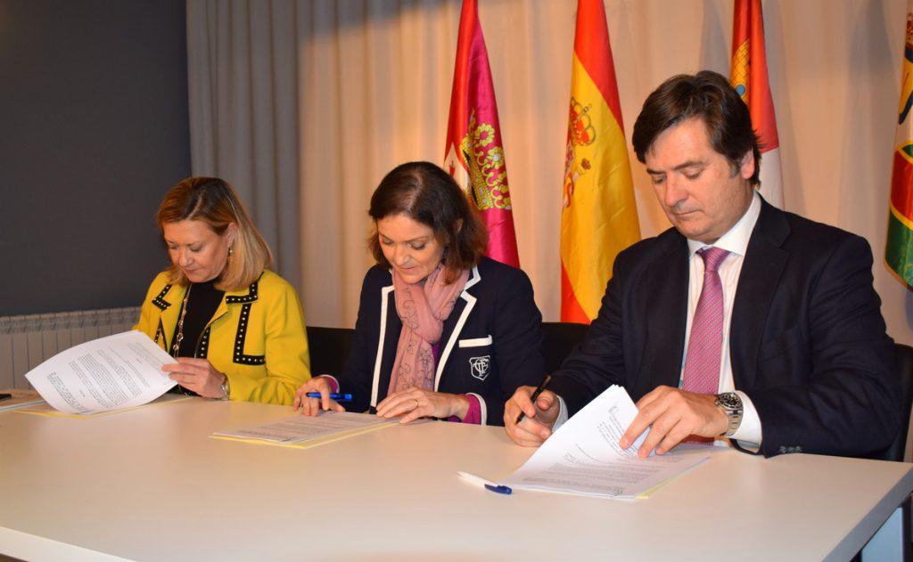 Gobierno, Junta y NSR firman el acuerdo que permite impulsar el nuevo proyecto en la planta de Vestas de León