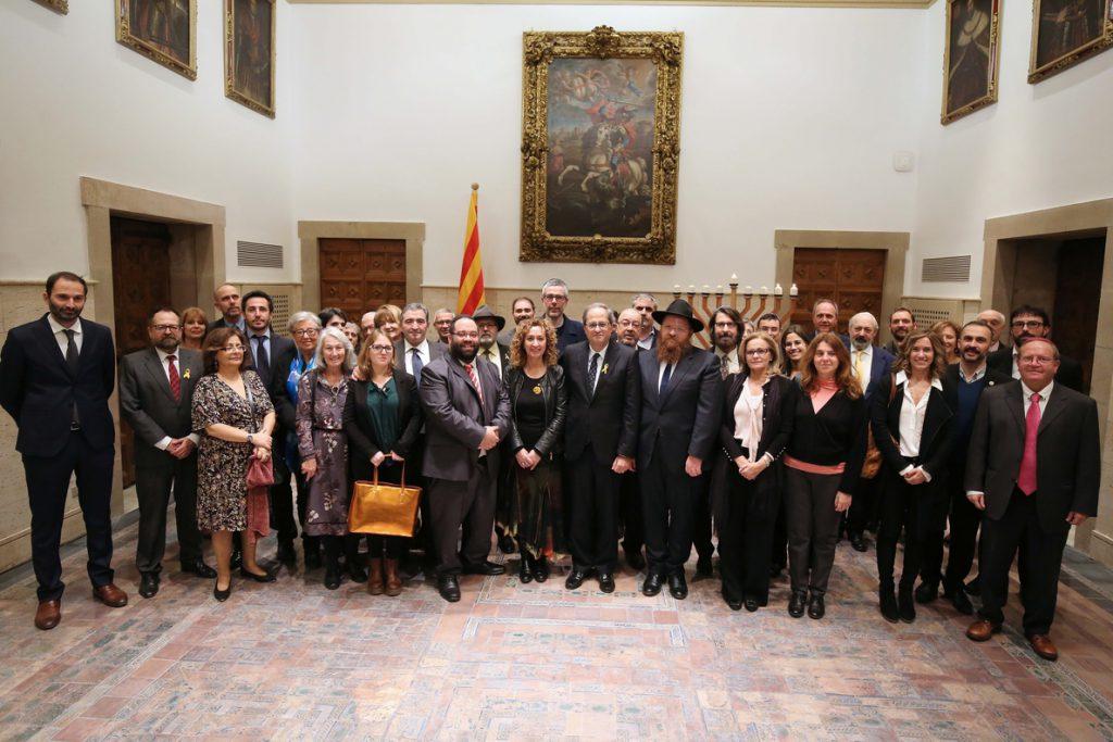 El Govern catalán no dará comida en actos oficiales en apoyo a la huelga de los políticos presos