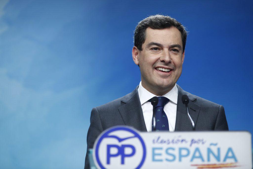 Moreno preside este martes en Sevilla el Comité Ejecutivo del PP-A  para abordar el resultado de las elecciones