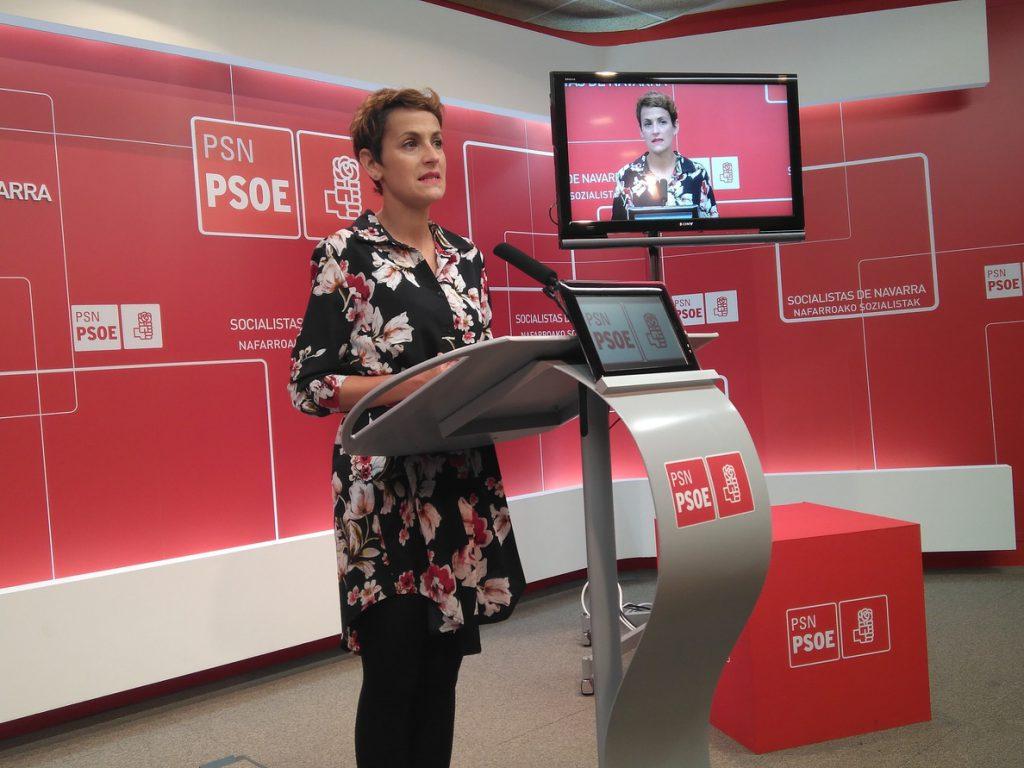 PSOE Navarra cree que la izquierda se debe unir para «hacer un cordón sanitario contra la ultraderecha»