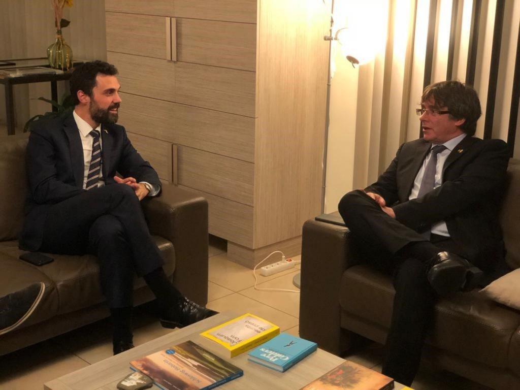 Puigdemont ve «inaceptable» que se le culpe del auge de Vox y mantiene su rechazo a apoyar los Presupuestos