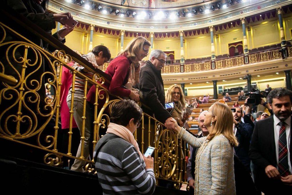Unas 10.400 personas visitan el Congreso en las Jornadas de Puertas Abiertas del 40 aniversario de la Constitución