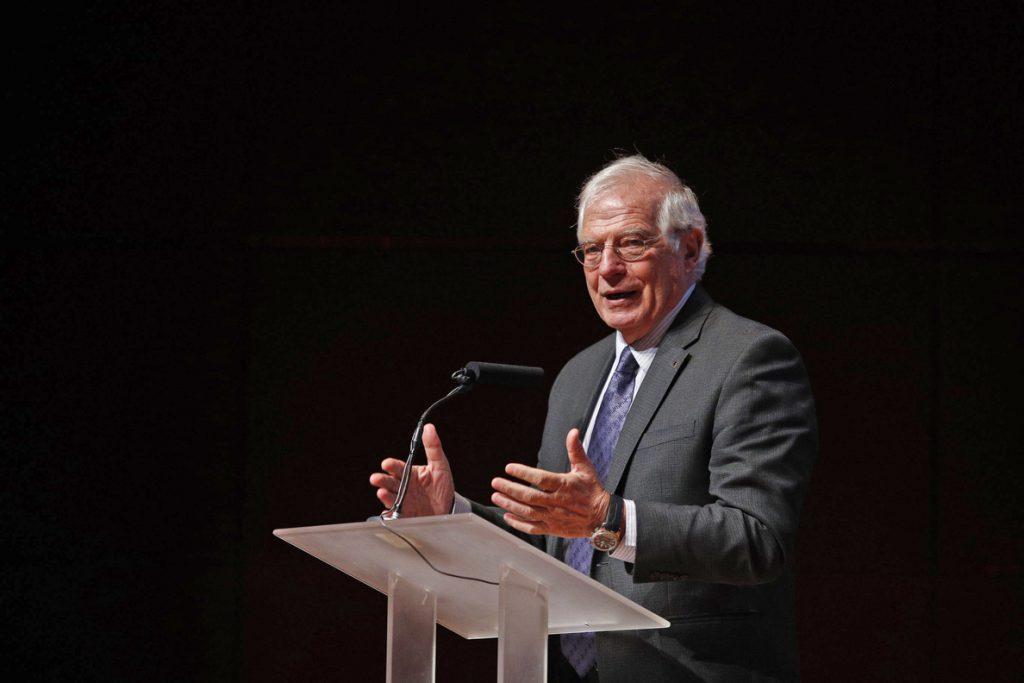 Torrent cree que Borrell debe dimitir antes de «censurar» al ministro de Defensa belga