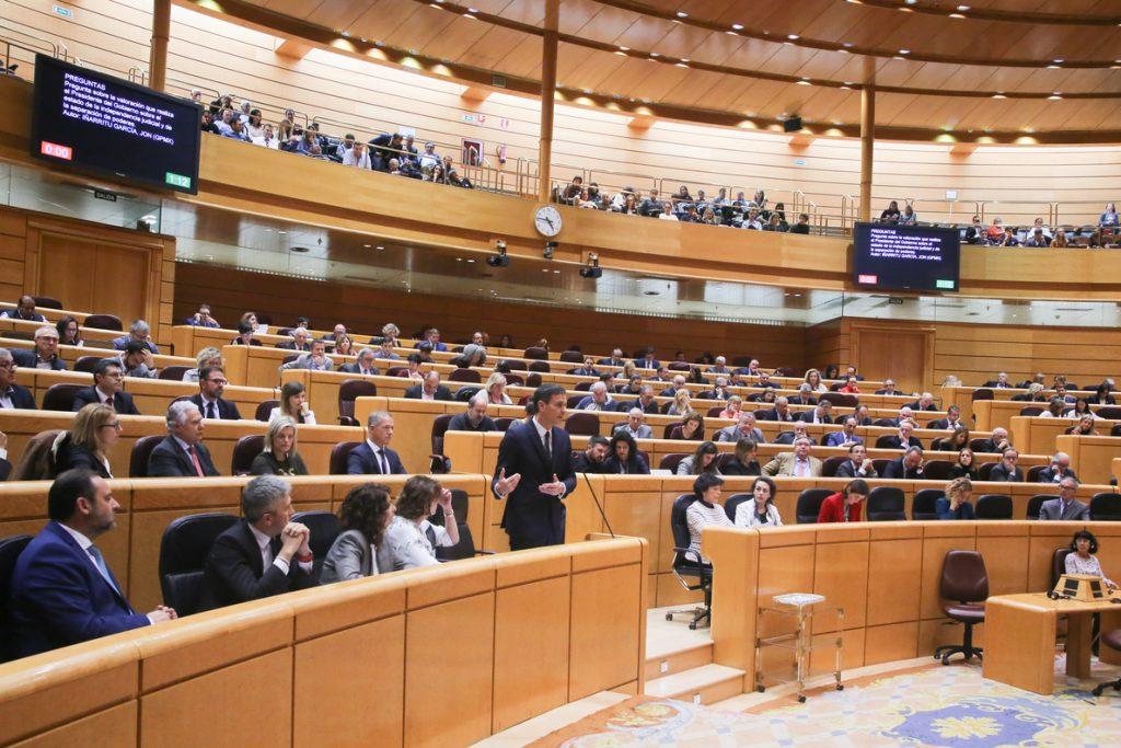 Un total de 1.632 ciudadanos acuden al Senado el primer día de puertas abiertas