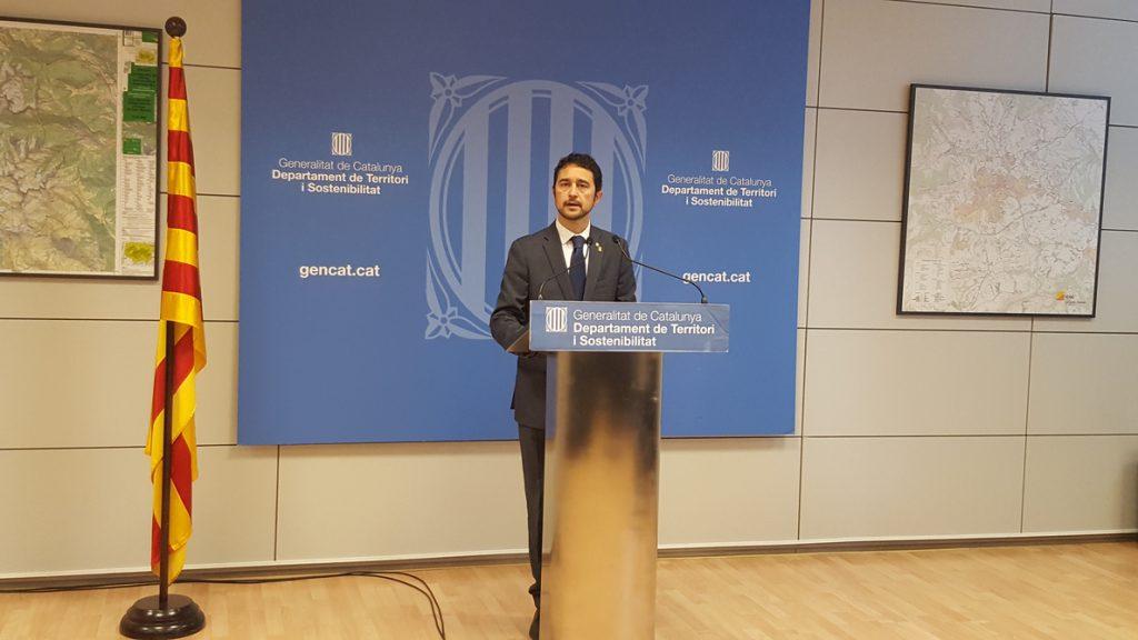 El conseller Damià Calvet sobre los PGE: «No es con chantaje que conseguirán que hablemos con ellos»
