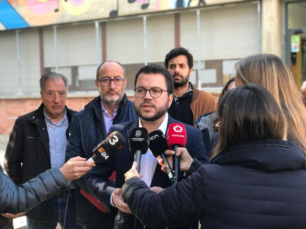 Aragonès pide «menos propaganda y más hechos» a Sánchez si quiere aprobar los PGE