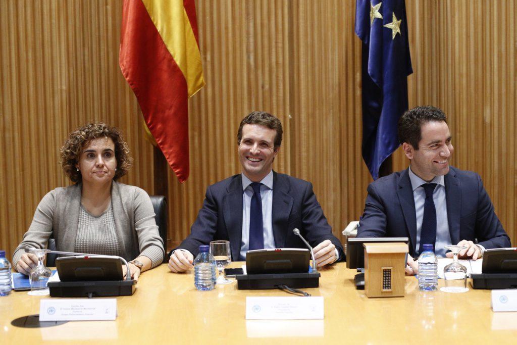 Casado asiste este jueves al Día de la Constitución en el Congreso, donde coincidirá con sus antecesores Aznar y Rajoy